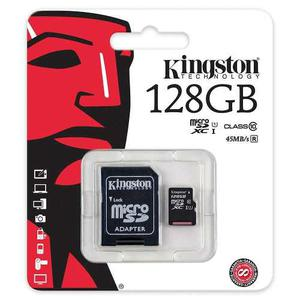 Memoria Micro Sd Kingston 128gb Class 10