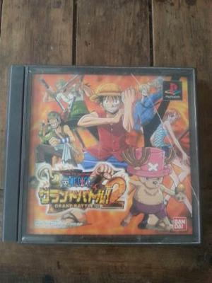 One Piece Grand Battle 2 Para Ps1 (jp)-envio Incluido