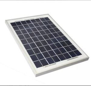 Panel Solar De 12v Y 10w Para Cargar Pilas De 12v Buen Fin