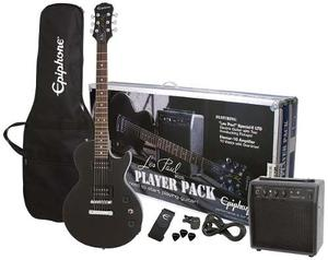 Paquete De Guitarra Eléctrica Epiphone Les Paul Player Pack