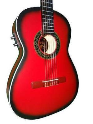 Paquete Guitarra Electroacústica Vz Selecta Varios Colores