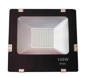 Reflector Led 100w Exterior Luz Fria Remate Envio Gratis