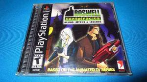 Roswell Conspiracies Ps1 *cd En Muy Buen Estado*