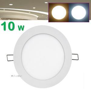 Spot Led 10w Panel Slim Focos Empotrado Luces Casa Oficina