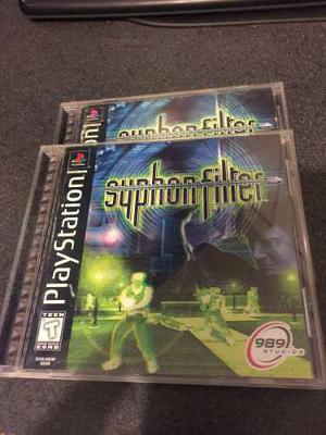 Syphon Filter Playstation 1 Y Playstation 2