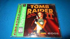 Tomb Raider 2 Ps1 *cd En Muy Buen Estado*