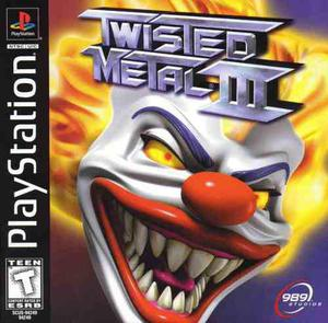 Twisted Metal 3 Playstation1 Compatible Ps2