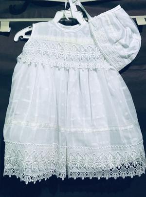 Vestido bebé bautizo