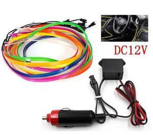 Wire Hilo 1m Luminoso Luz Neon Cable Ceja Led Coche Moto 12v