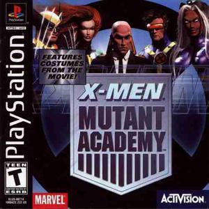 X Men Mutant Academy Playstation 1 Compatible Con Play2