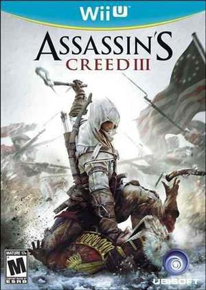 Assassins Creed Iii 3 Nintendo Wii U Usado Blakhelmet C Sp