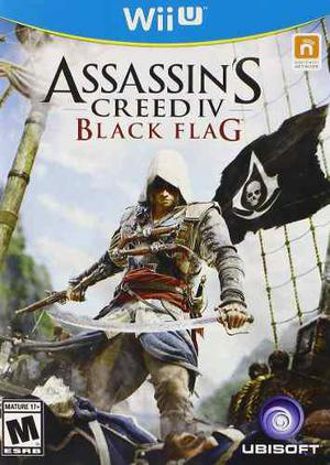 Assassins Creed Iv Black Flag Nintendo Wii U Blakhelmet C