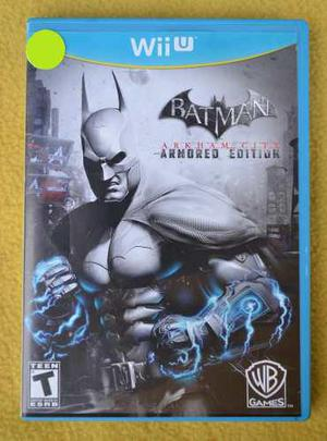 Batman Arkham City Armored Edition Nintendo Wii U Play Magic