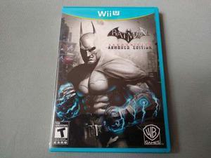 Batman Arkham City Armored Edition Para Nintendo Wii U