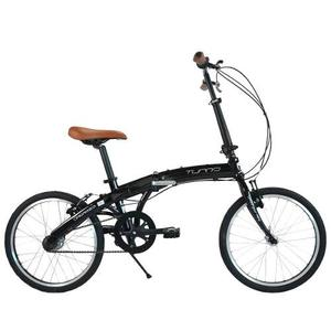Bicicleta Plegable Turbo Origami 2.0 Nexus R-20 Negra