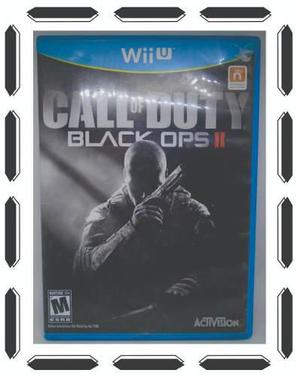 Call Of Duty Black Ops 2 Para Nintendo Wii U Como Nuevo