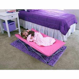 Cama Cuna Infantil Plegable Portatil De Viaje Regalo Pink W