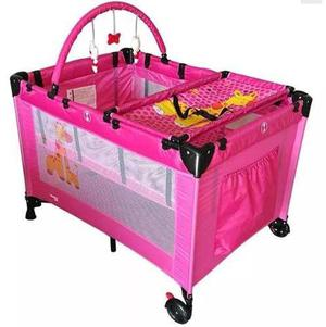 Cuna De Viaje P/bebe K800n Trendykids | Rosa