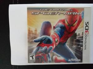 JUEGA CON THE AMANZING SPIDER MAN NINTENDO 3DS