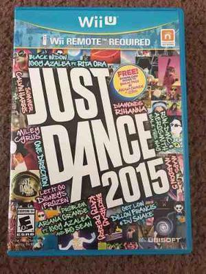 Just Dance 2015 Completo Para Nintendo Wii U,funcionando Pe