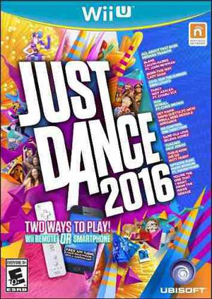 Just Dance 2016 Nuevo Para Wii U Original Blakhelmet Sp