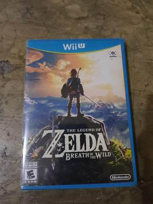 Legend Of Zelda - Breath Of The Wild Wii U - Nuevo