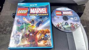 Lego Marvel Super Heroes Completo Para Nintendo Wii U