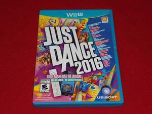 Longaniza Games * Wii U Just Dance 2016 / Used Like New