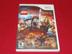Longaniza Games * Wii / Wii U Lego Lord Of The Rings *****