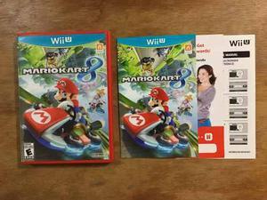 Mario Kart 8 Completo Para Nintendo Wii U Excelente Estado