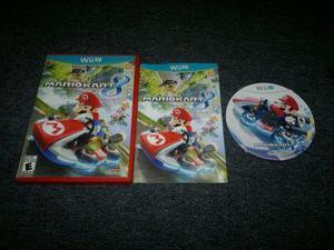 Mario Kart 8 Completo Para Nintendo Wii U,excelente.