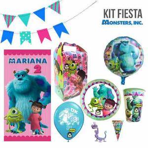 Monster Inc Boo Paquete 20 Niños Platos Vasos Fiesta