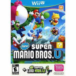 New Super Mario Bros U + Super Luigi U Wii U Nuevo Sellado