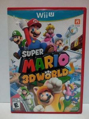 Nintendo Wii U Super Mario 3d World
