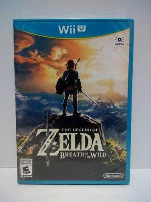 Nintendo Wii U The Legend Of Zelda Breath Of The Wild