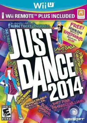 Paquete Just Dance 2014 Con Control Remoto Wii Plus - Wii U