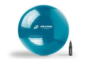 Pelota Pilates 65 Cm Con Bomba De Aire Amazing Fitness®