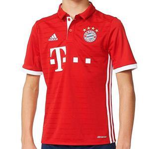 Playera Futbol Soccer Fc Bayern München Niño adidas Ai
