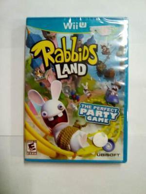 Rabbids Land Para Nintendo Wii U Nuevo Y Original