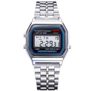 Reloj Digital Clásico Vintage Unisex Hombre Mujer Niño