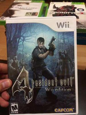 Resident Evil 4 **para Wii & Wii U** En Excelente Estado