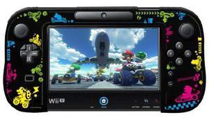 Silicon Cover Colección Para Wii U Gamepad Mario Kart 8 Tip