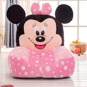 Silla Sillón Puff Para Bebé O Niña Decoración Minnie