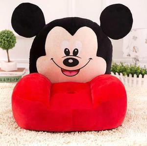 Silla Sillón Puff Para Bebé O Niño Decoración Mickey