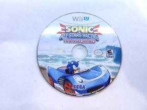 Sonic And All Stars Racing Transformed Wii U Gamers Code**