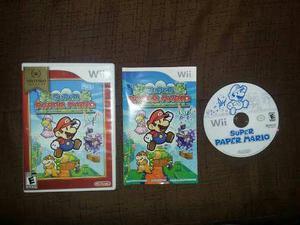 Súper Paper Mario Para Wii, Wii U Como Nuevo