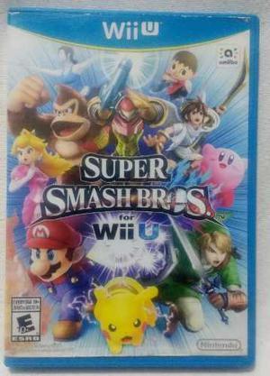 Súper Smash Bros Para Wii U Usado