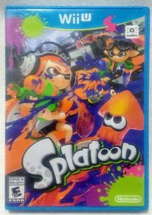 Splatoon Para Wii U Usado