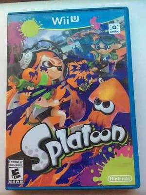Splatoon Videojuego Nintendo Wii U