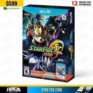 Star Fox Zero] Bonus Guard Nuevo Sellado Wii U | Tracia
